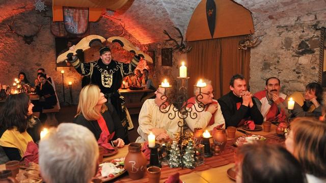 Rittermahl auf der Waldburg
