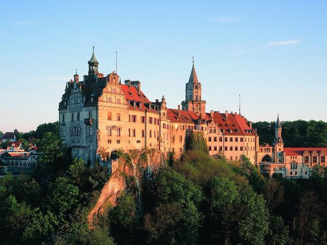 Schloss Sigmaringen - Nordansicht