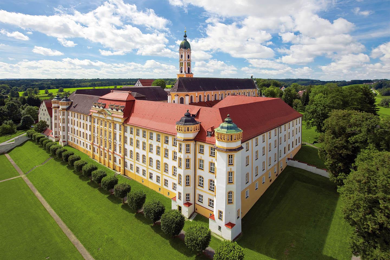 Barocke Klosteranlage in Ochsenhausen