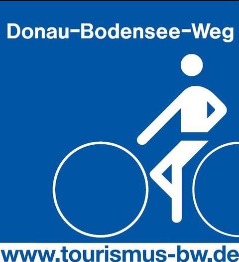 Logo Donau-Bodensee-Radweg