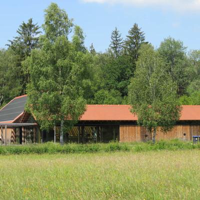 Aussichtspunkte entlang des Oberschwaben-Allgäu-Radwegs: Naturschutzzentrum Wilhelmsdorf