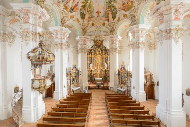 Wallfahrtskirche in Steinhausen