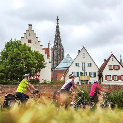 Aussichtspunkte entlang des Oberschwaben-Allgäu-Radwegs: Radfahren in Ulm