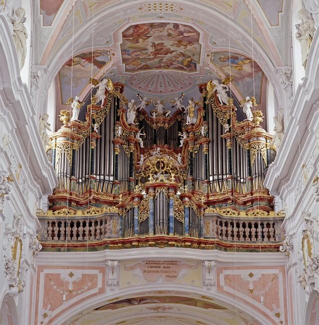Orgel im Kloster Ochsenhausen