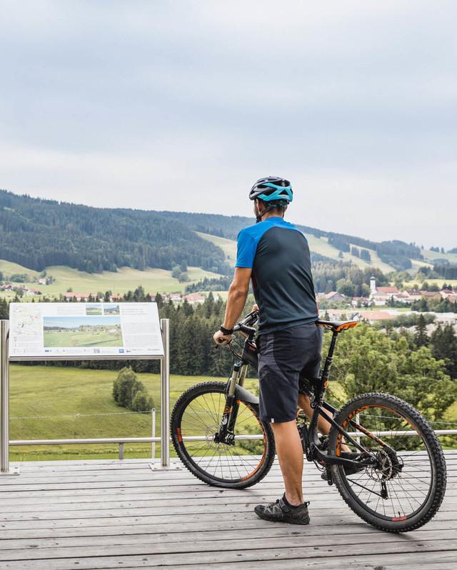Radreiseregion Württembergisches Allgäu Türme Tobel Tour