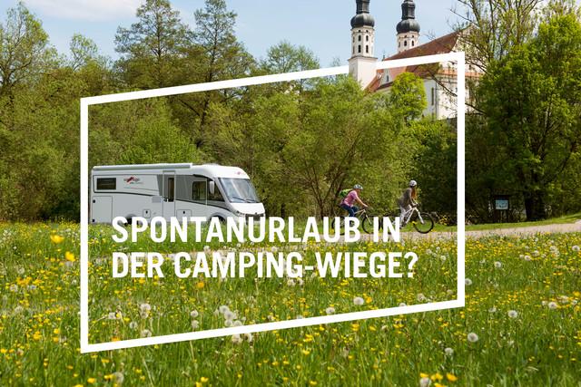 Reisemobil Landurlaubkampagne
