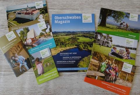 Prospekte der Oberschwaben Tourismus GmbH