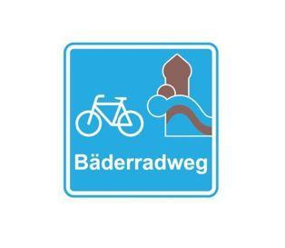 Logo Schwäbischer Bäderradweg