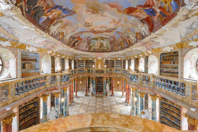 Bibliothekssaal Wiblingen