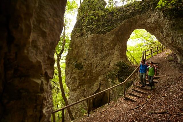 Premiumwandern Sigmaringen: Klosterfelsenweg