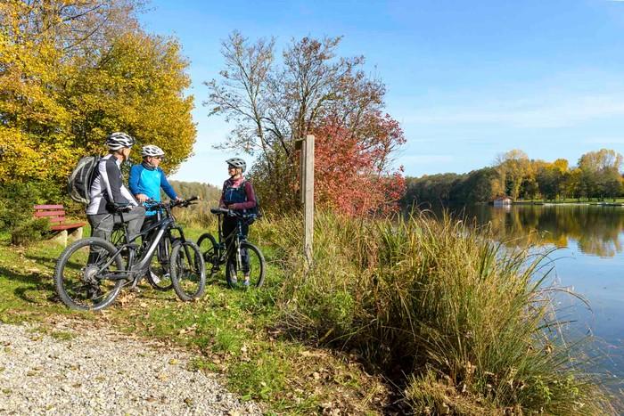 Herbstliche Radtour bei Leutkirch im Allgäu