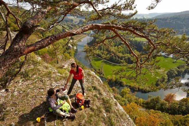 Premiumwandern Sigmaringen: Donaufelsengarten