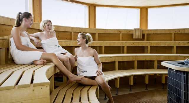 Sauna in der Schwaben-Therme Aulendorf