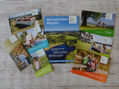 Prospekttitel Oberschwaben Tourismus