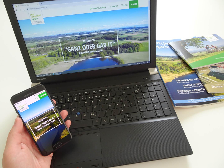 Neue Website der Oberschwaben Tourismus GmbH