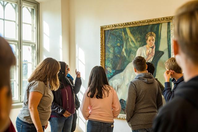 Ausstellungsführung in Schloss Achberg