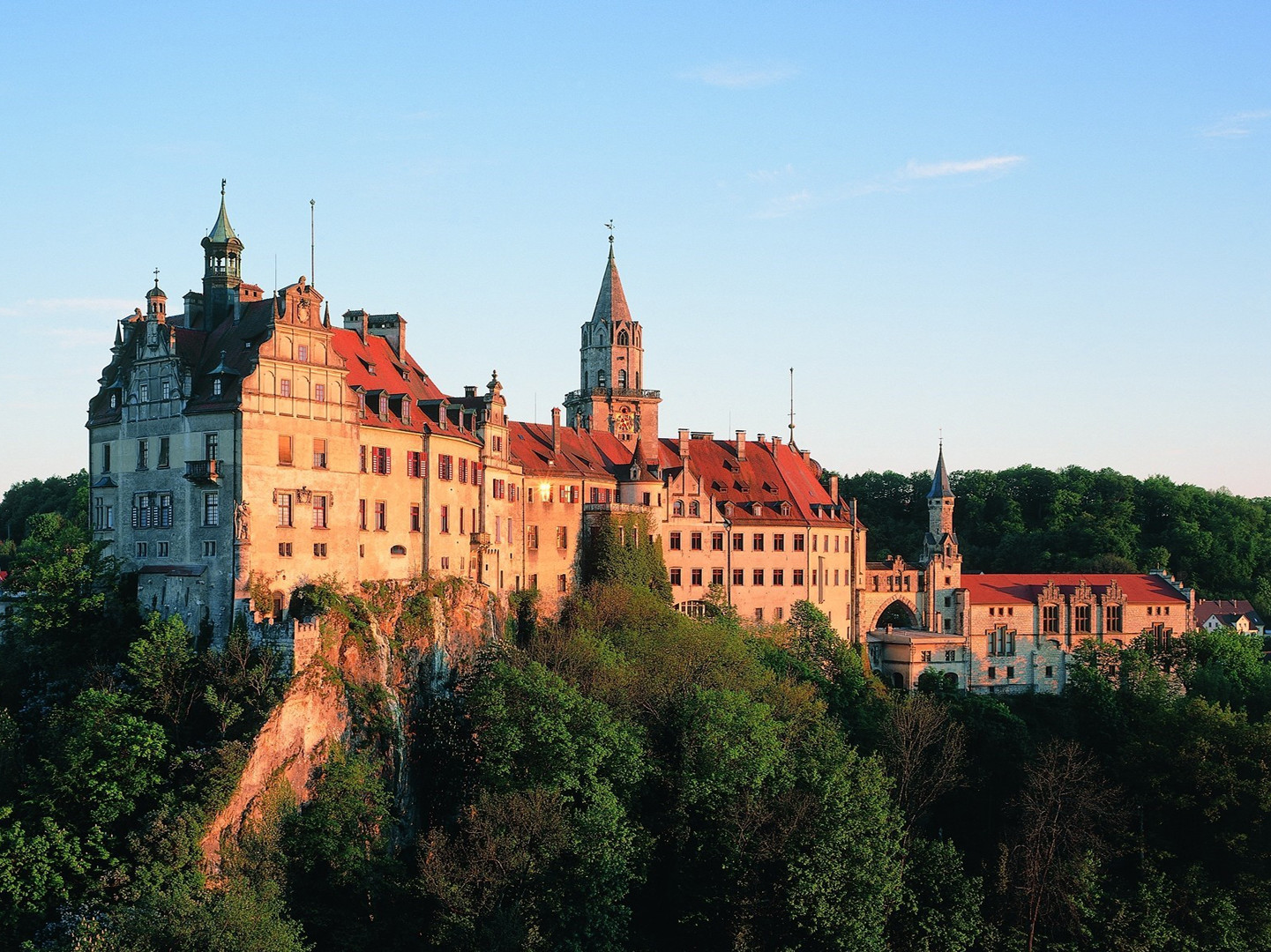 Ansicht des Hohenzollernschloss Sigmaringen