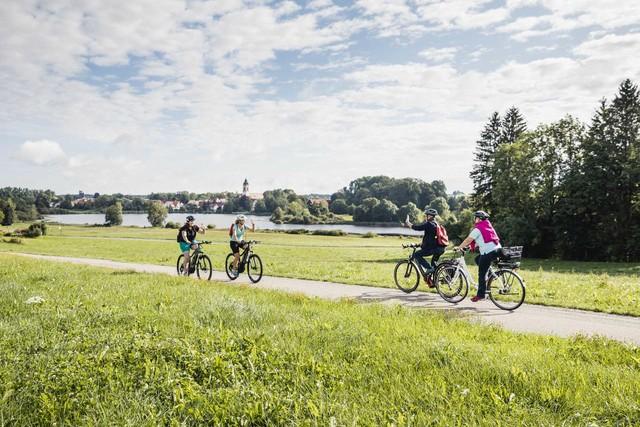Radreiseregion Württembergisches Allgäu Fürstliche Seen