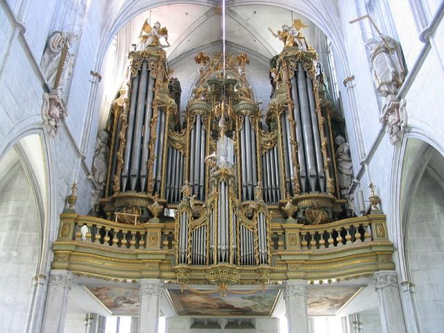 Orgel im Salemer Münster