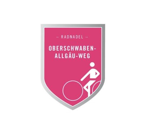 Radnadel Oberschwaben-Allgäu-Radweg