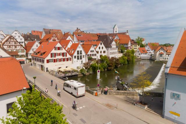 Reisemobil in Riedlingen
