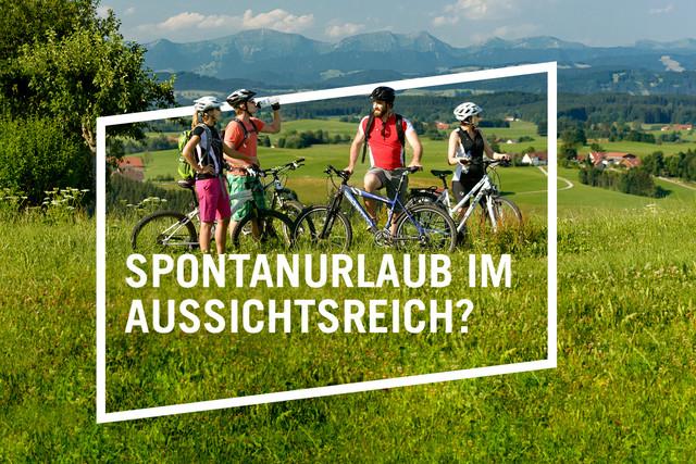 Radfahren Landurlaubkampagne