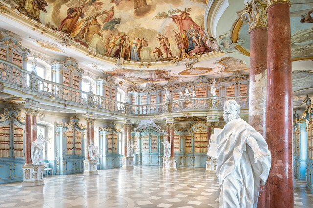 Bibliothekssaal Bad Schussenried