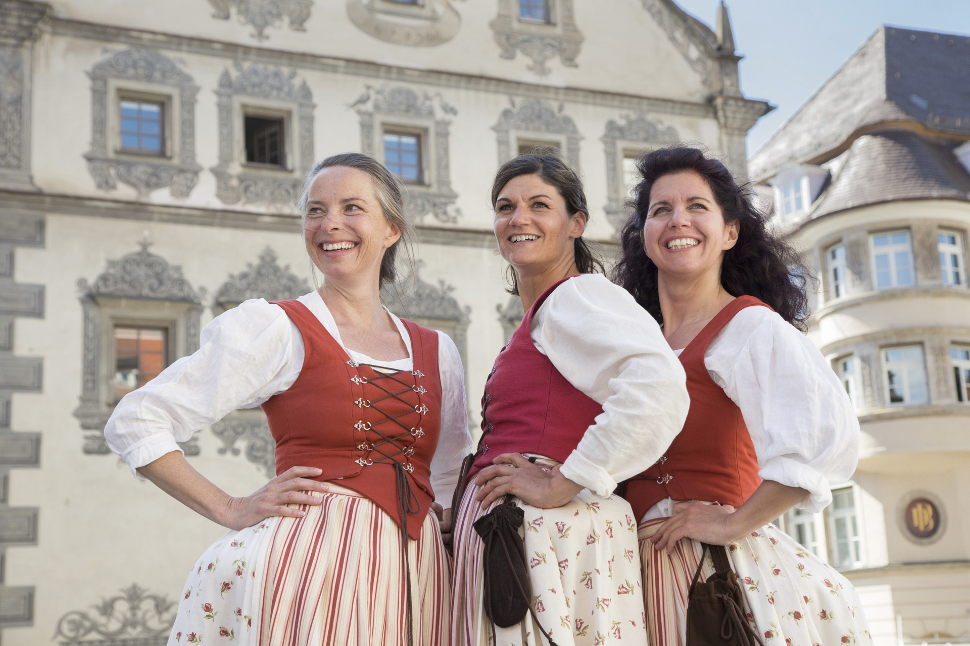 Drei Türmerinnen in Ravensburg